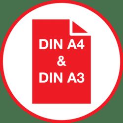DIN A4 & A3