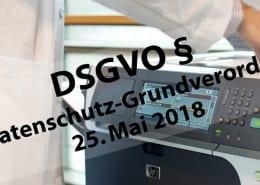 Oftmals werden die Bestimmungen zum Datenschutz er DSGVO bei Drucker und Kopierer nicht eingehalten