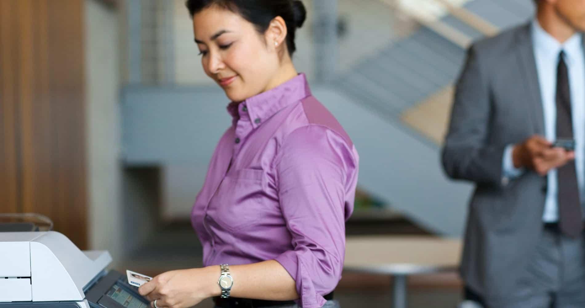 Pull Printing Lösungen tragen zur Unternehmenssicherheit bei.
