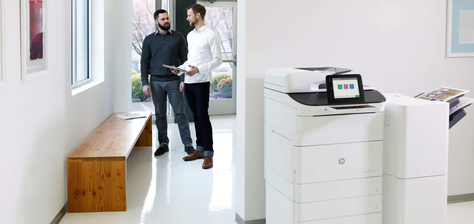 HP Tintenstrahldrucker sind als Drucker oder Kopierer in DIN A3 oder DIN A4 erhältlich