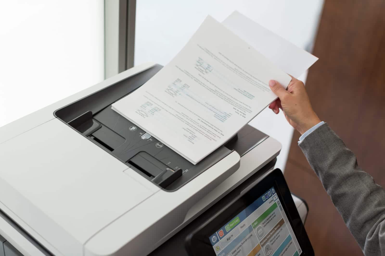 Dokumente scannen mit den vielfach einsetzbaren Multifunktionssystemen.