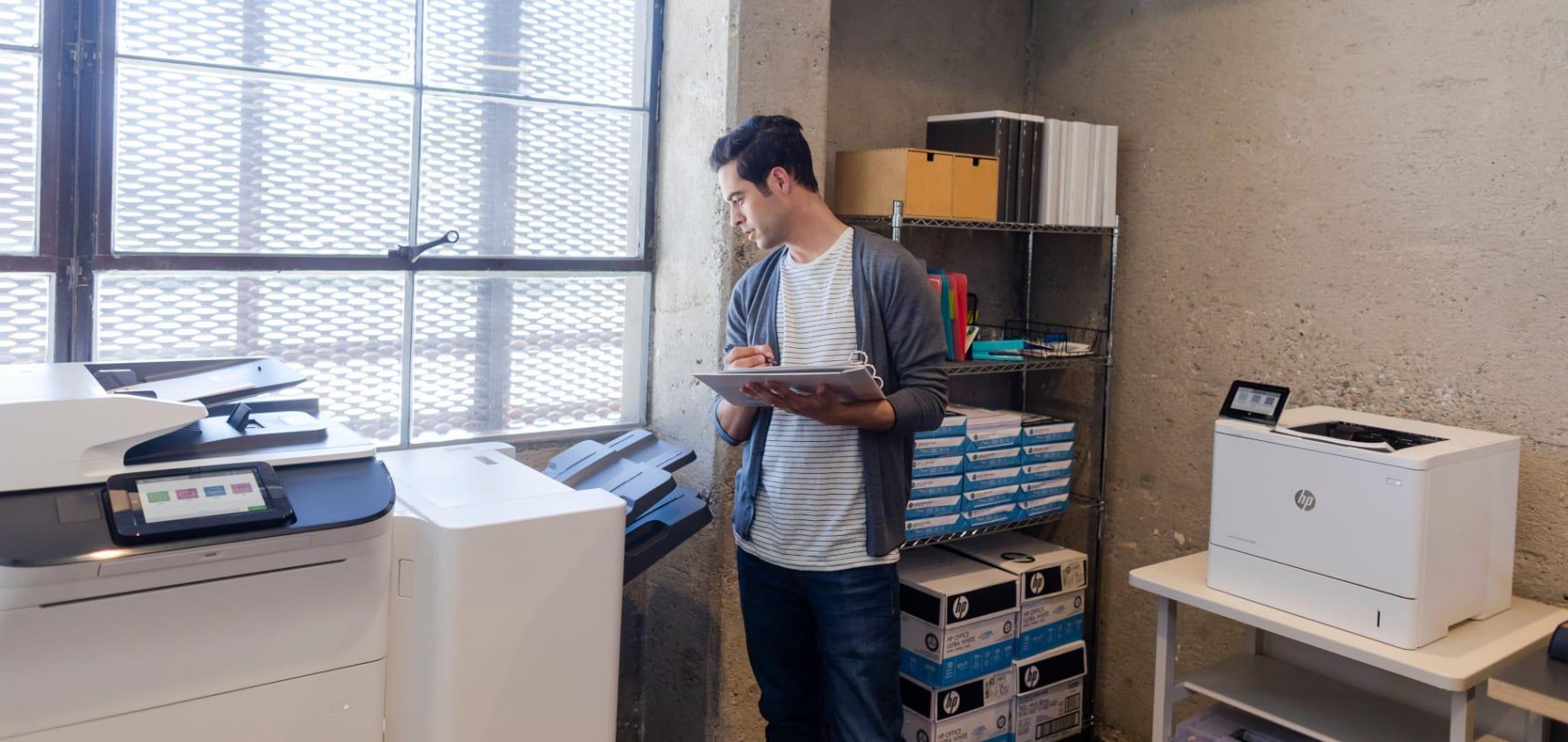 Drucker leasen - mehr als eine Alternative