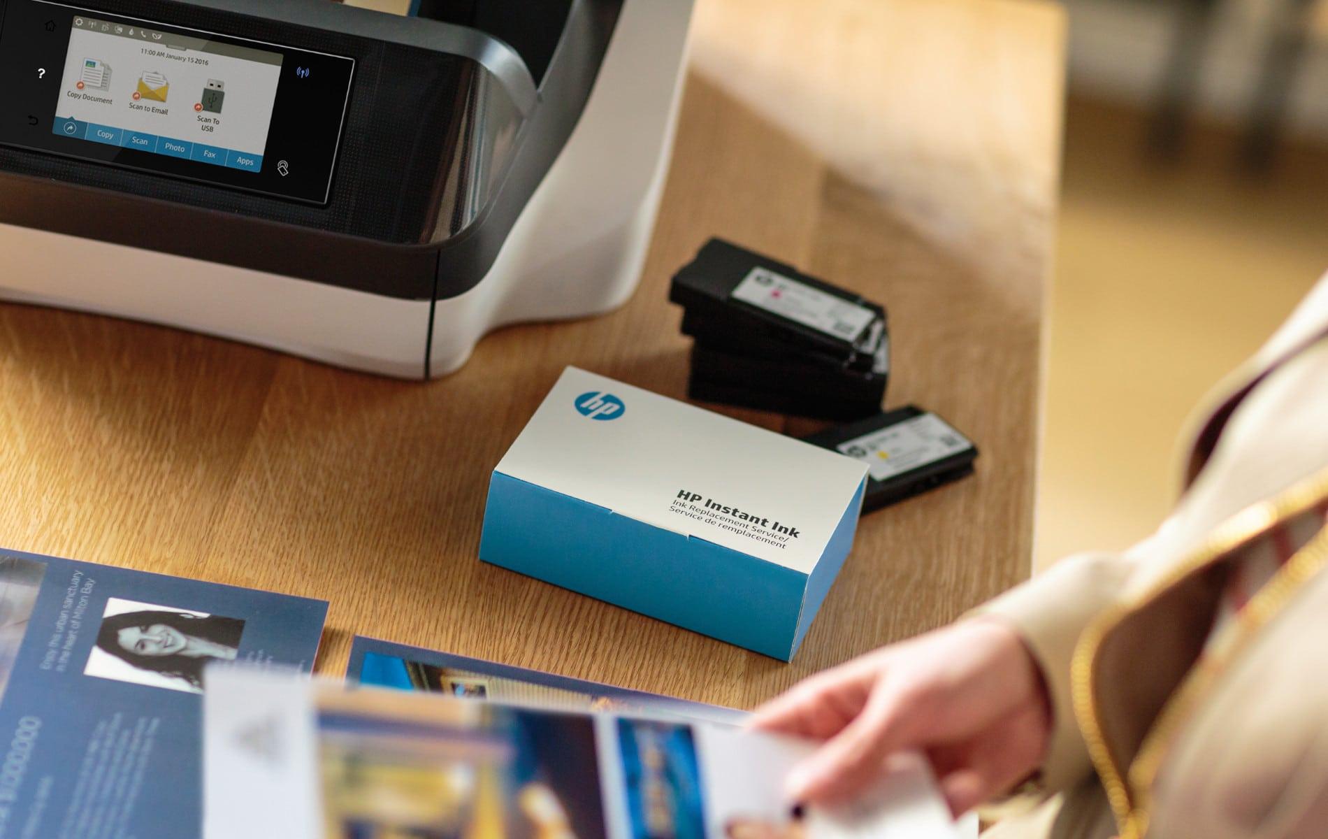 HP Instant Ink - rechtzeitig Tintenpatronen verfügbar und Druckkosten senken