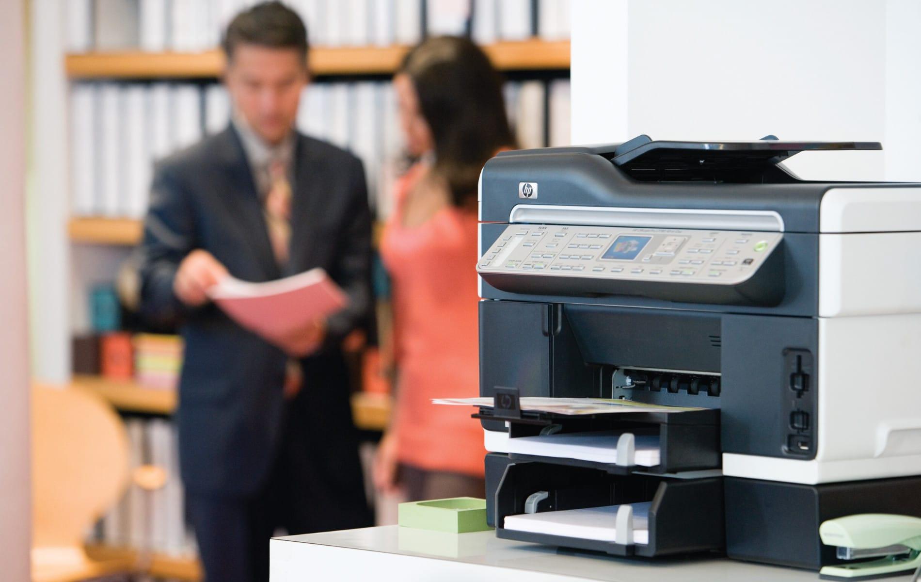 Um die Daten verarbeiten zu können, muss der Drucker oder Kopierer eine bestimmte Druckersprache verstehen