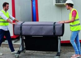 Fachgerechtes transportieren von Druckern, Kopierer oder Plotter, sollte ausschließlich durch Fachpersonal durchgeführt werden.
