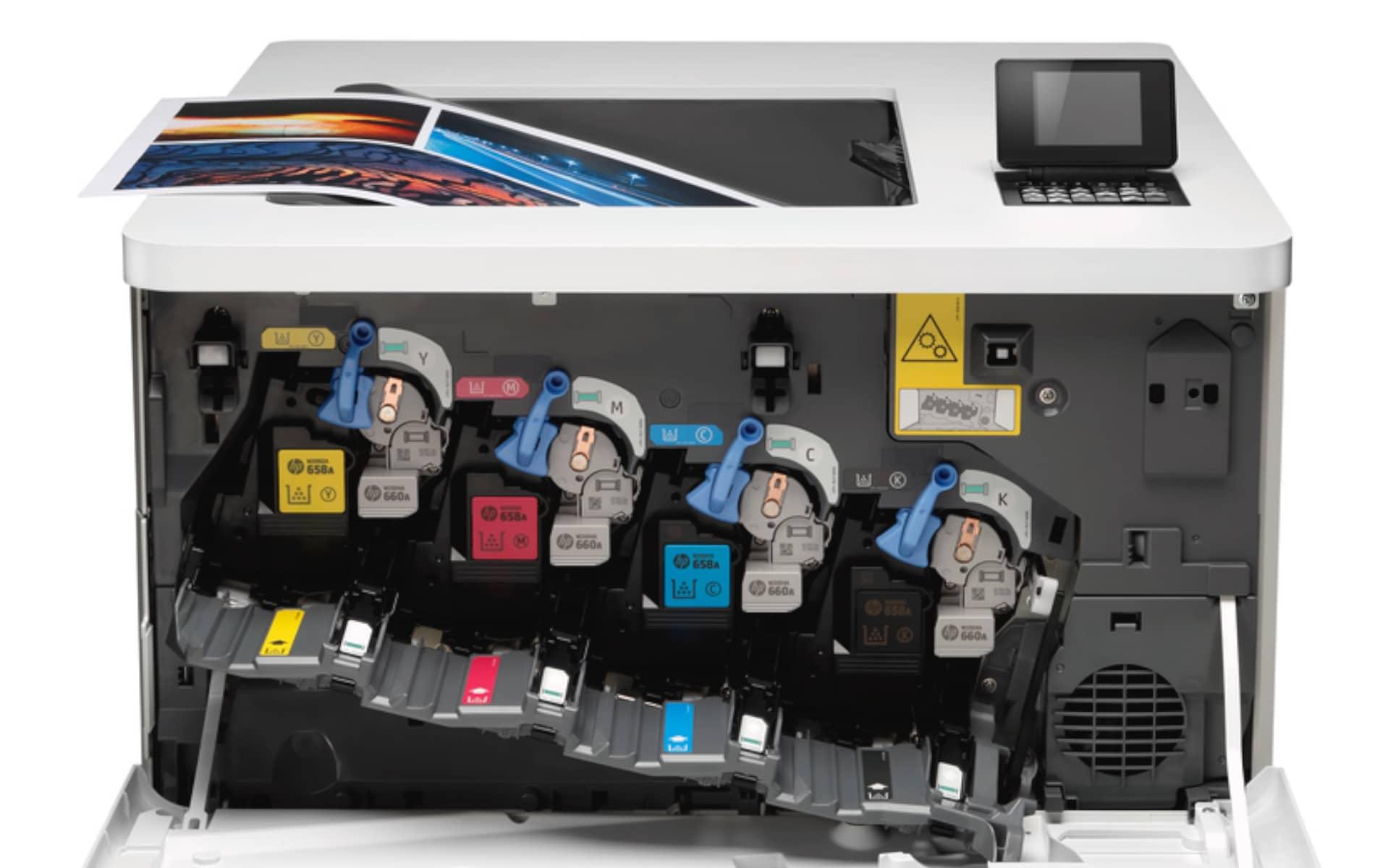 Der neue Toner von HP mit der Jet Intelligence hilft beim Strom sparen