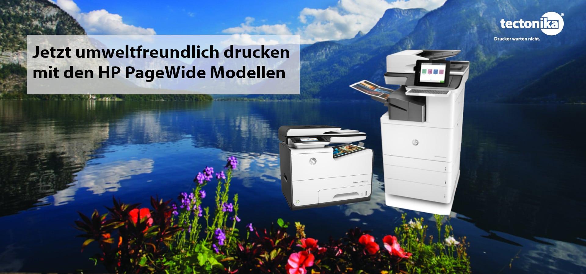 Mit HP PageWide Modell kann man nicht nur umweltfreundlich drucken, sondern auch viel Geld sparen!