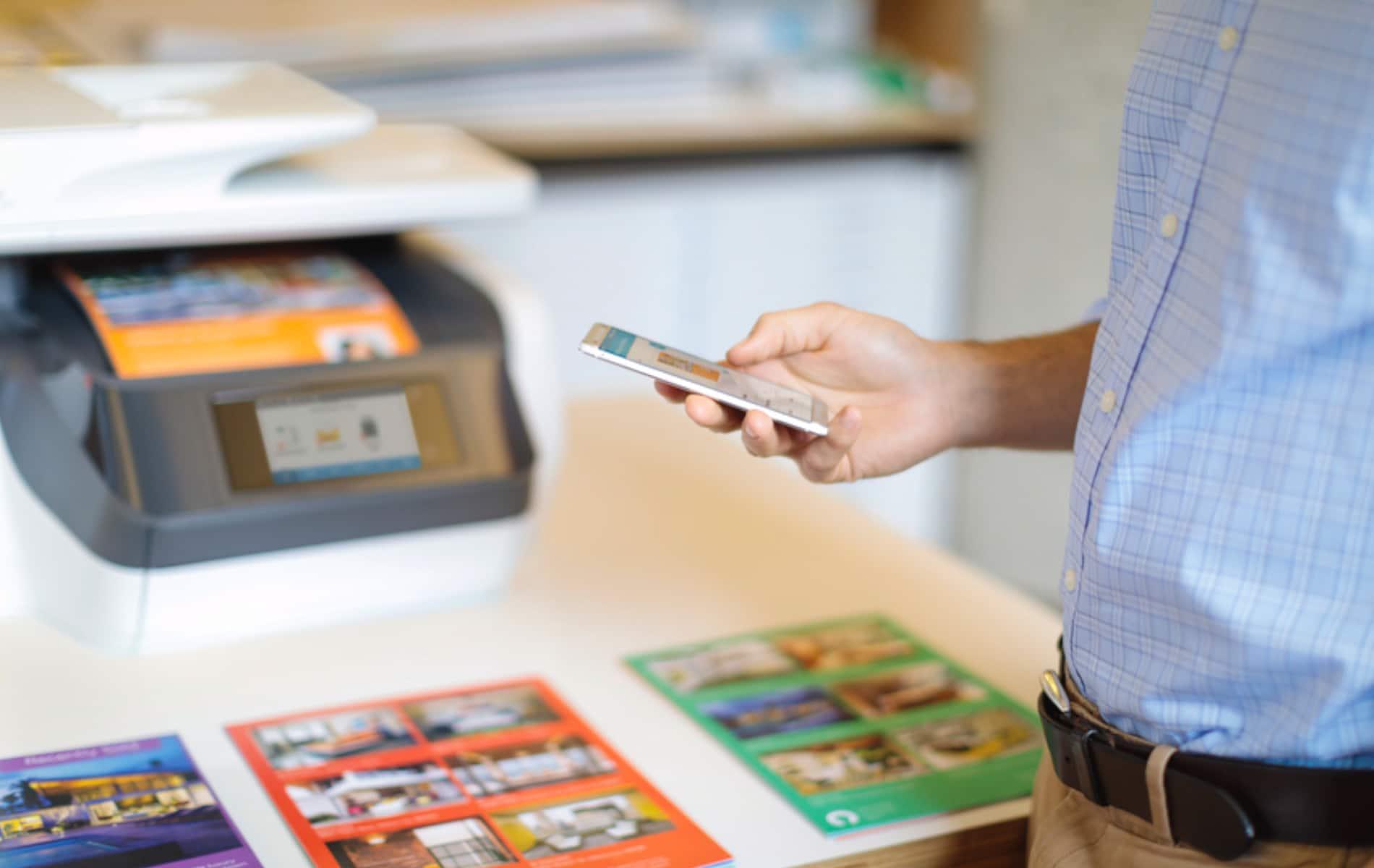 Verwalten Sie mit der HP Smart App die Drucker u.a. aus dem HP+ Programm.