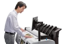 Mit einem Plotter MFP können ganz einfach Dokumente gedruckt, gescannt oder kopiert werden.
